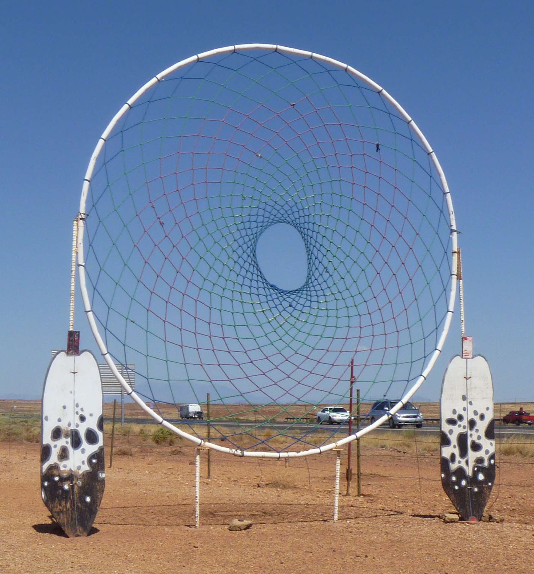 Huge Dream Catchers For Sale Day 40 Route 40 Holbrook AZ to Flagstaff AZ and on to Phoenix 38